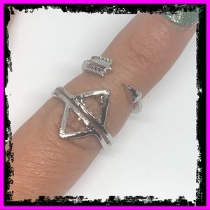🆕 Sterling Silver Native 2PC Ring Set